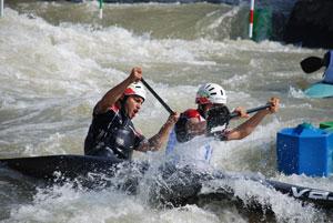 رودخانه کرج ميزبان مسابقات قهرماني کشور اسلالوم
