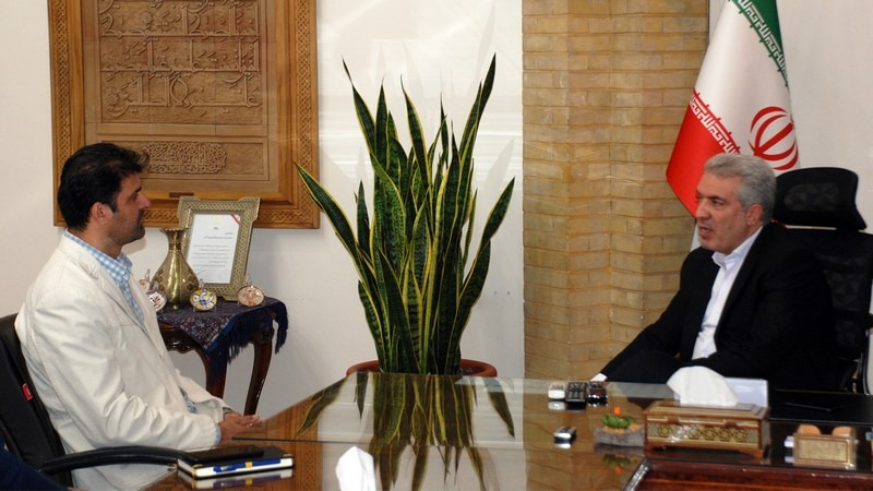دیدار رئیس فدراسیون قایقرانی با معاون رئیس جمهور