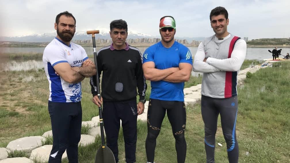امضاء تفاهمنامه همکاری فدراسیون قایقرانی ایران و آذربایجان
