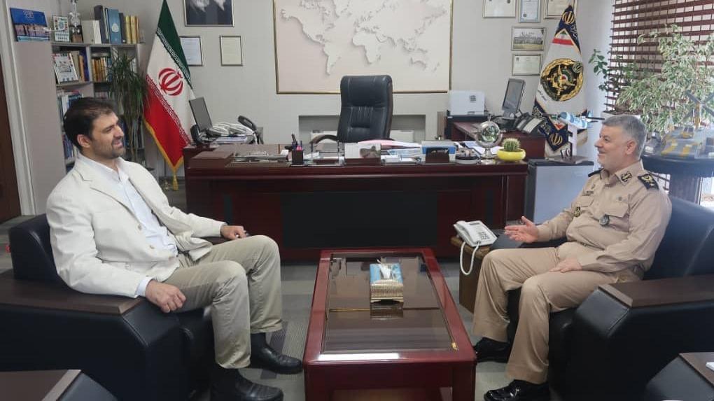 پیام تبریک علیرضا سهرابیان به مناسبت روز نیروی دریایی
