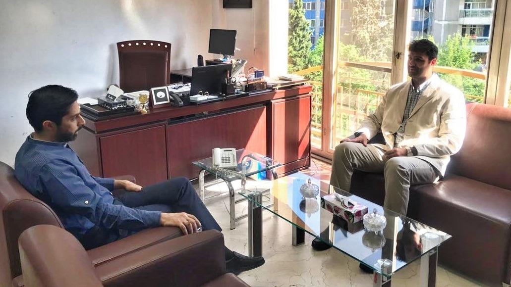 دیدار رئیس فدراسیون قایقرانی با مدیر شبکه ورزش سیما