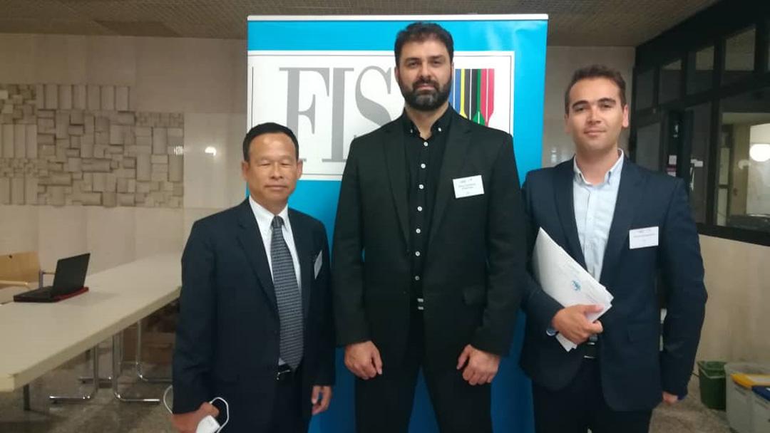 دیدار علیرضا سهرابیان با رئیس کنفدراسیون روئینگ آسیا در اجلاس اتریش