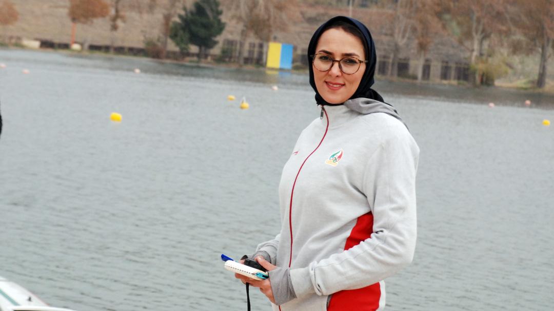 مهسا مجللی مربی تیم ملی آبهای آرام بانوان: برای کسب سهمیه باید همه دست به دست هم دهیم