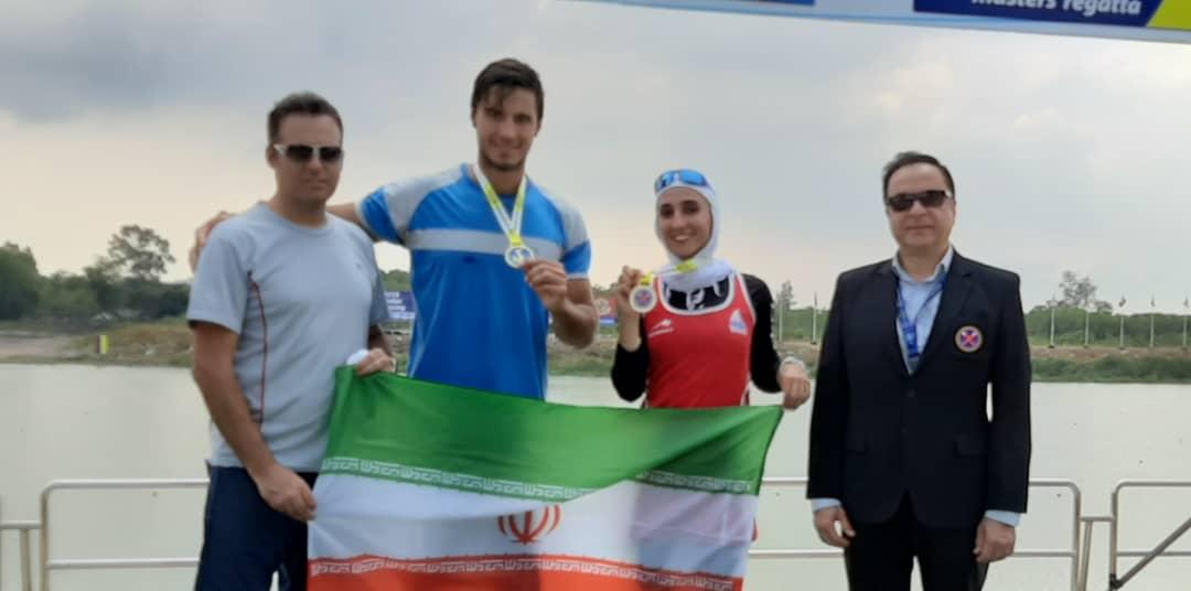 نازنین ملایی دومین طلای ایران در کاپ آسیا را کسب کرد