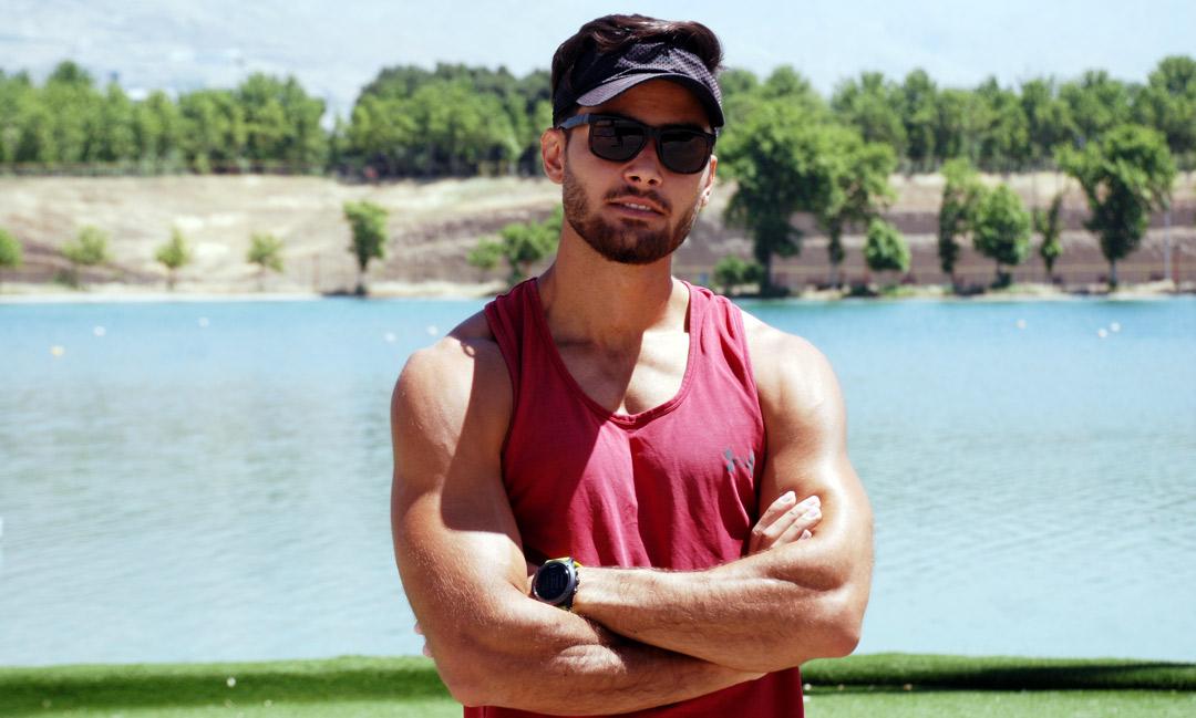 امید احمدی: تمرینات را به صورت انفرادی در دریاچه آزادی آغاز کردیم