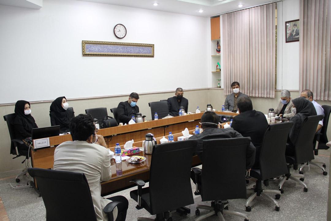 دیدار مدیرعامل سازمان ورزش شهرداری تهران با رئیس فدراسیون قایقرانی