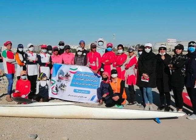 مسابقات قایقرانی هرمزگان به مناسبت هفته تربیتبدنی برگزار شد