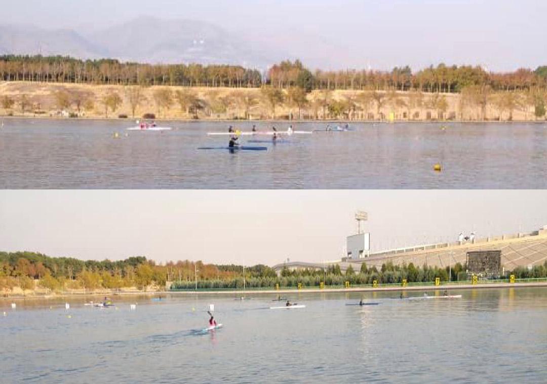 گزارش مسابقات قایقرانی هفته تربیتبدنی و ورزش هیات تهران