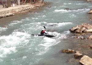 تمرينات بسيار خوبي در رودخانه کرج انجام مي دهيم