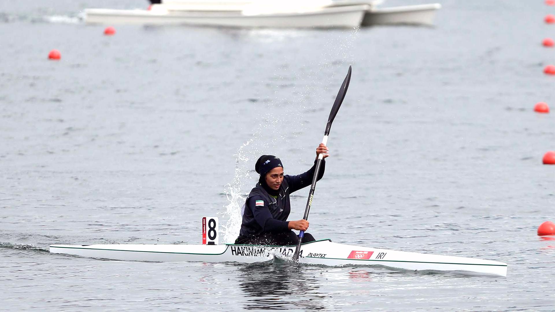 آرزو حکیمی ملی پوش کایاک: تمام دغدغه ما رسیدن به المپیک است / قایقرانی حمایت شود نتایج درخشانی میگیرد