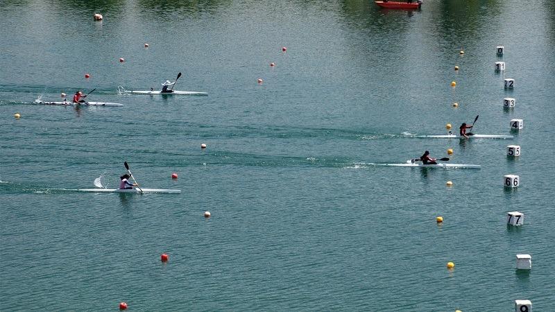 دریاچه آزادی میزبان ملی پوشان آبهای آرام آقایان و بانوان