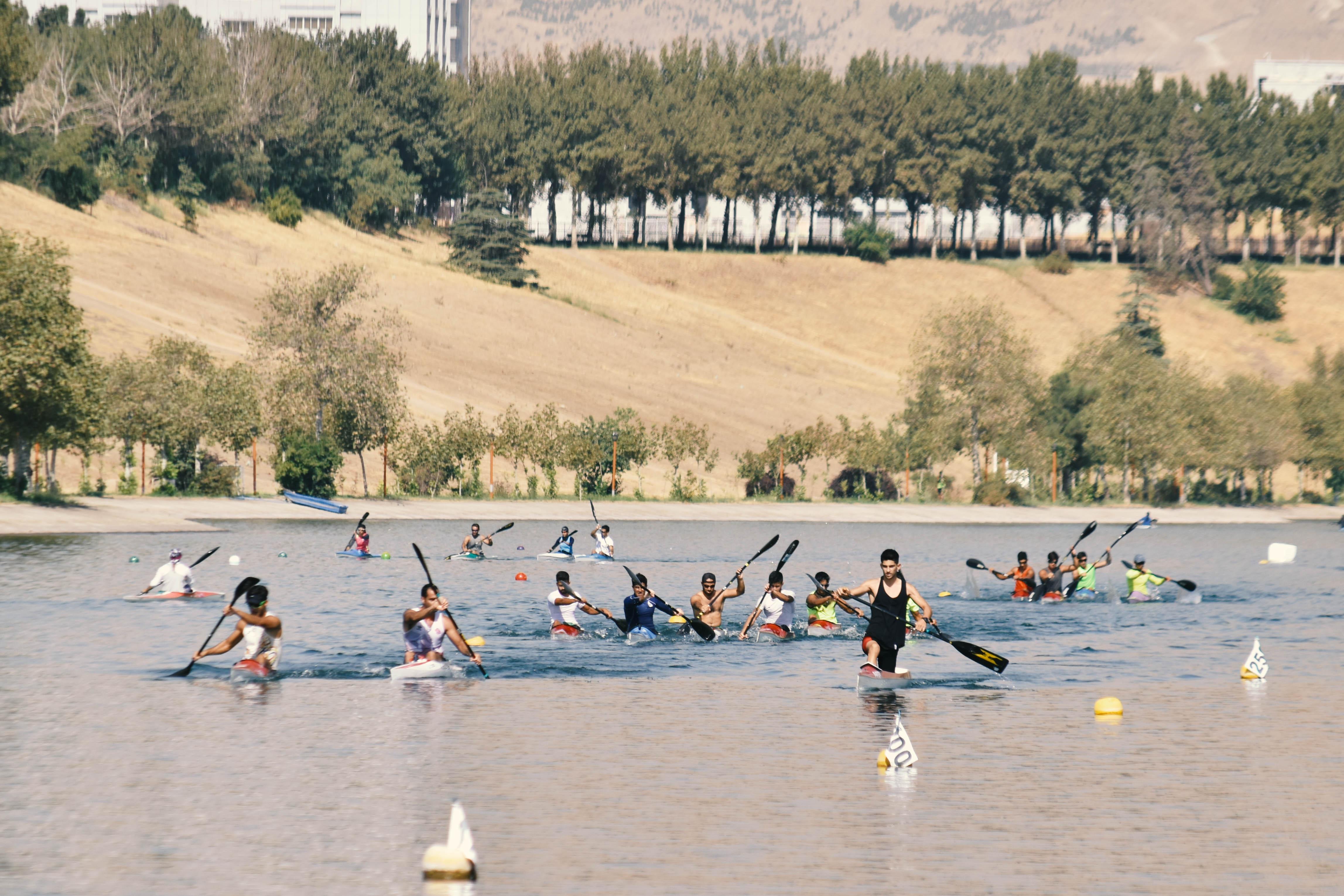 دریاچه آزادی از فردا میزبان اردوی تیم ملی آبهای آرام خواهد بود