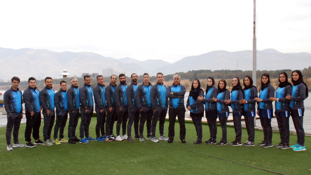 تیم ملی کانوپولو عازم مسابقات کاپ چین شد