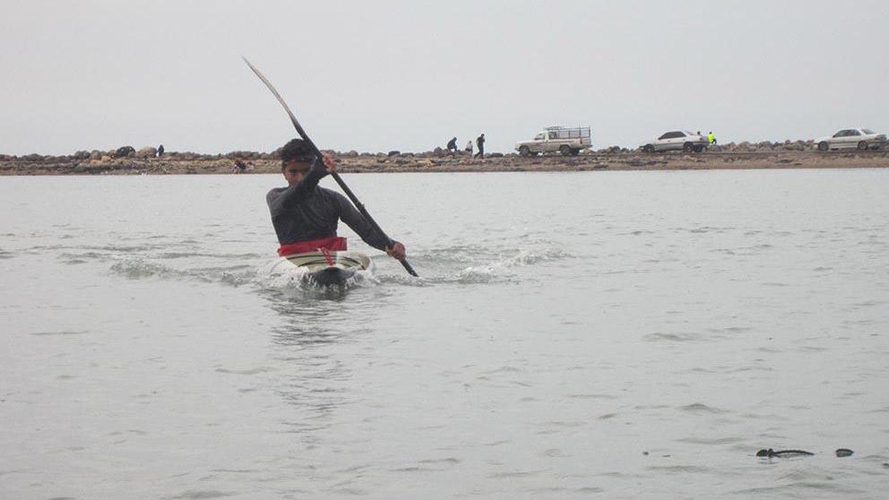 طرح استعدادیابی قایقرانی در شهرستان فریمان