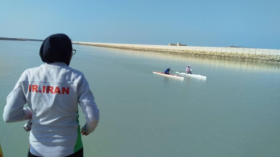 آغاز تمرینات تیم ملی آبهای آرام بانوان در بندرامام حسن (ع)