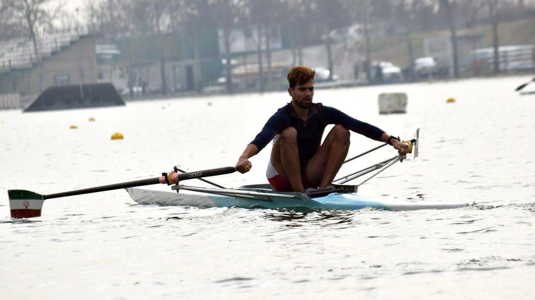 امیرحسین محمودپور: تنها ورزشکار سبک وزن تیم روئینگ مردان هستم