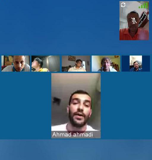 حضور احمد احمدی در وبینارهای کنفدراسیون بادبانی آسیا