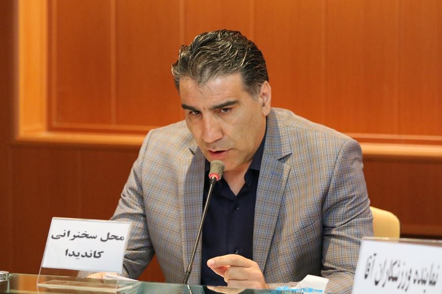 سیدعطا شرفشاهی: آذربایجان شرقی آینده روشنی در قایقرانی دارد