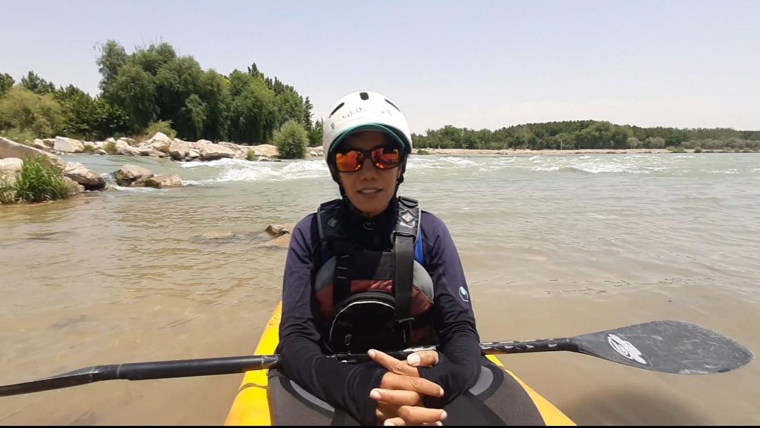 منیره نصر آزادانی: امیدوارم به زودی همه قایقرانان بتوانند در آب تمرین کنند