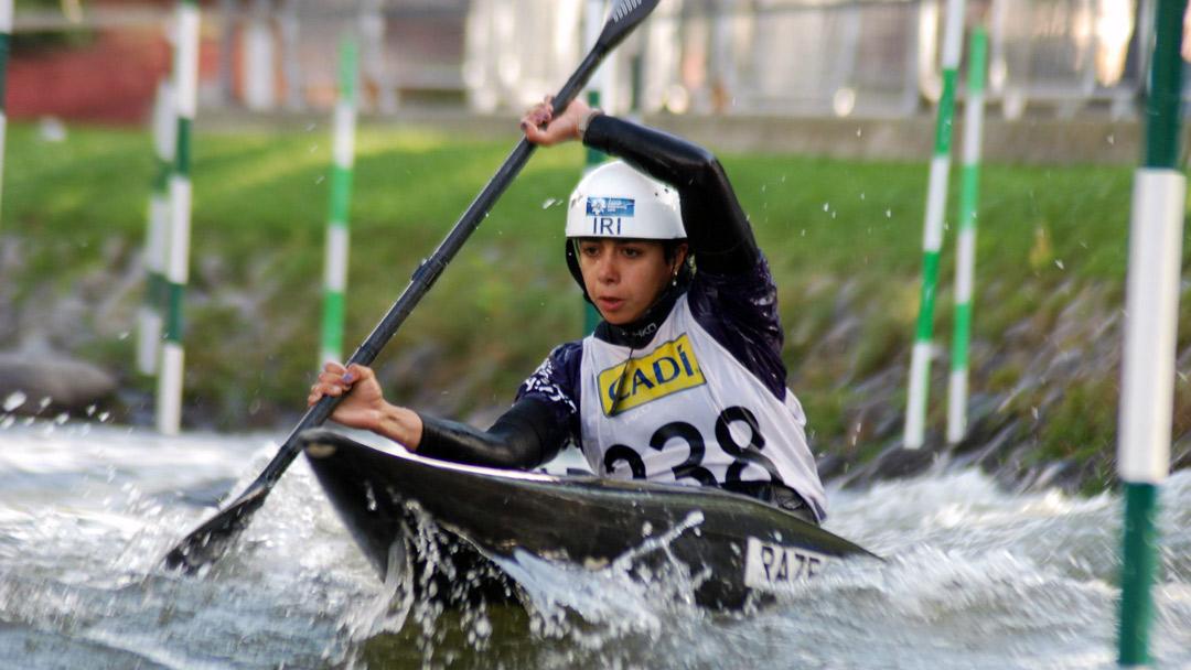 رکسانا رازقیان: بی صبرانه منتظر بازگشت به رودخانه و پیگیری تمریناتم هستم