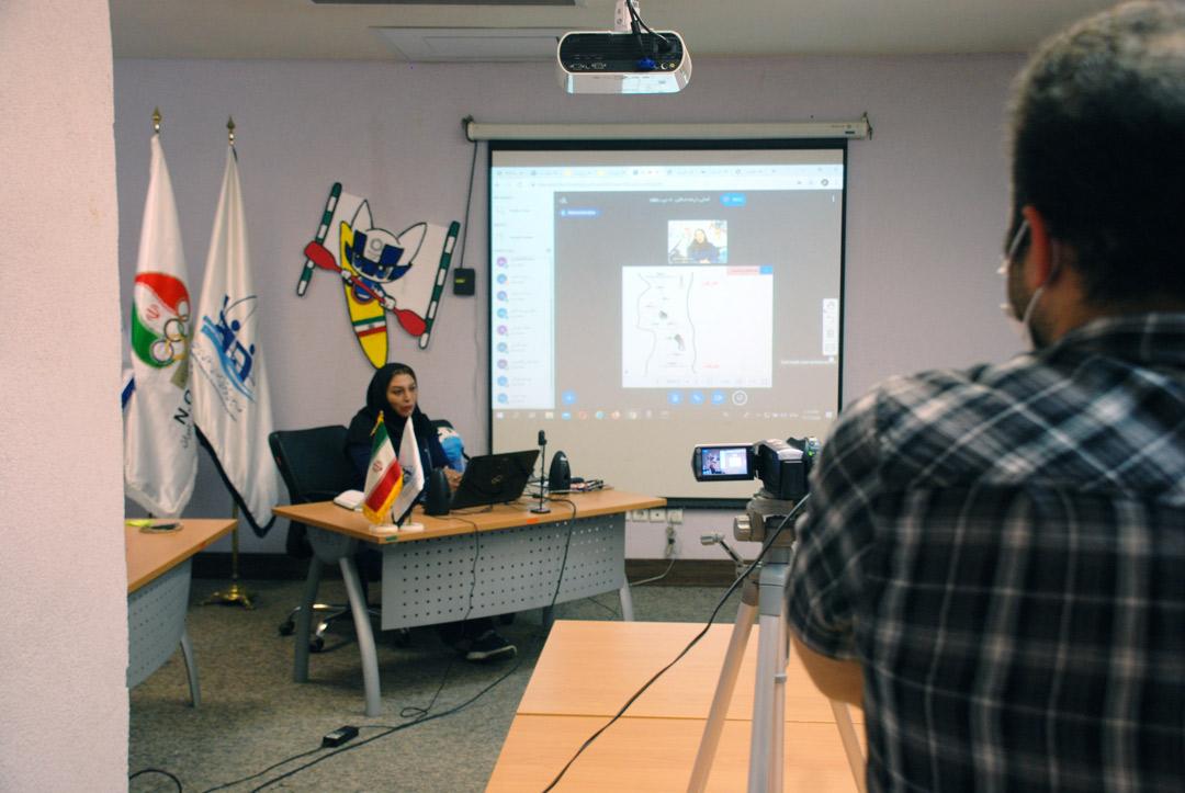 استقبال چشمگیر از کلاس های مجازی فدراسیون قایقرانی