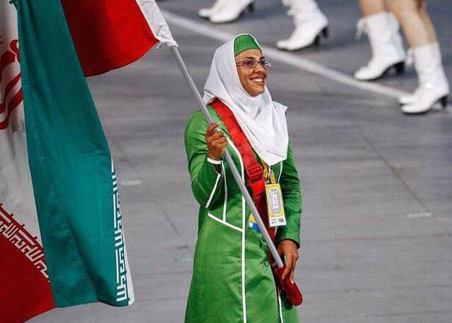 هما حسینی: بیان احساسم در پرچمداری المپیک بسیار دشوار است