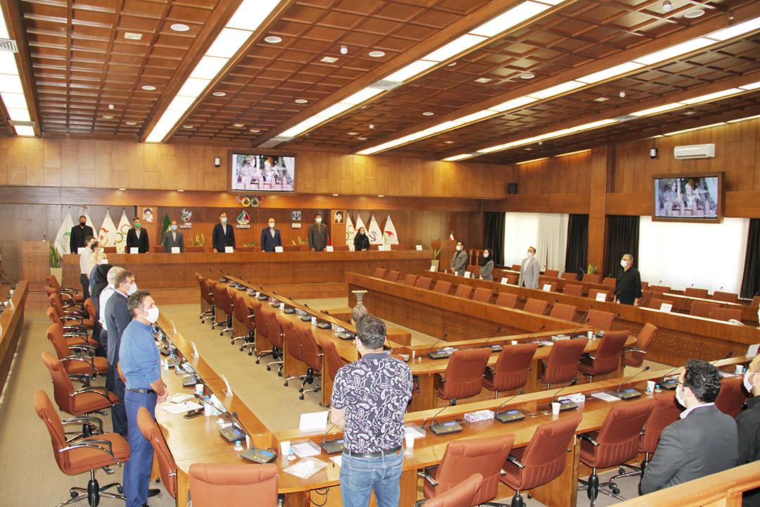 مجمع عمومی سالیانه فدراسیون قایقرانی برگزار شد
