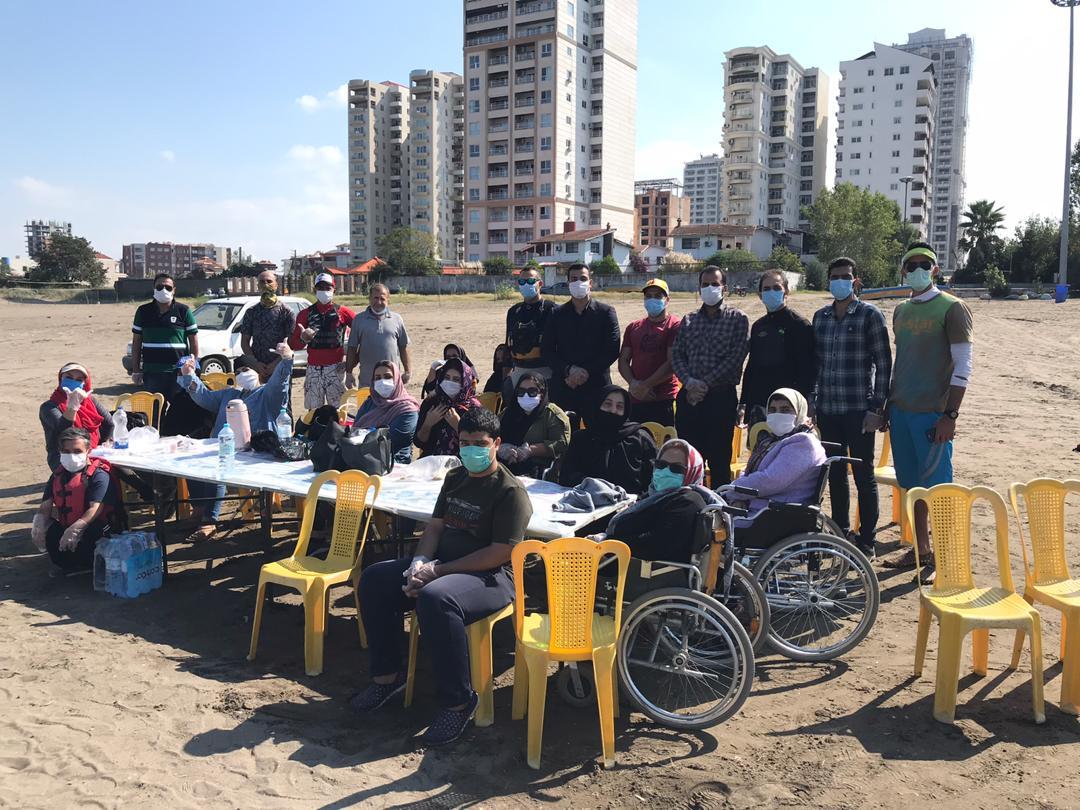 گزارش برنامه روز ملی پارالمپیک در هیات قایقرانی مازندران