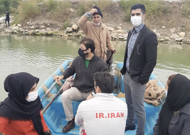 بازدید رئیس فدراسیون از هیات قایقرانی مازندران و اردوی تیم ملی در بابلسر